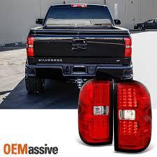 chevy silverado tail lights 2014 2016 chevy silverado 2015 2016 gmc sierra 3500hd led tail