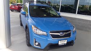 blue subaru 2017 2017 hyper blue subaru crosstrek at colonial subaru youtube