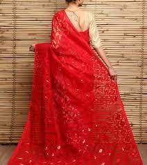 dhakai jamdani bengali brides in dhakai jamdani saree eves