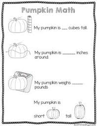 pumpkin investigation worksheet free printable free printable