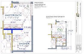 large master bathroom floor plans lake elmo multi bath remodel murphy bros