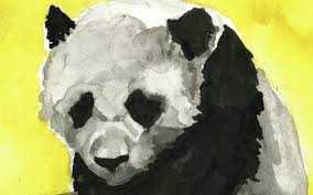 baby panda by red balloon art on storybird