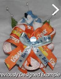 baby sock corsage baby shower corsages dr seuss baby sock corsages
