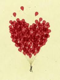 heart balloons 115 best heart balloons images on heart balloons