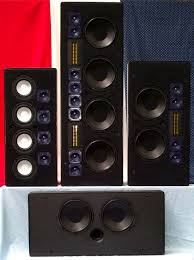 in wall home theater system in wall on wall speakers by miracle audio