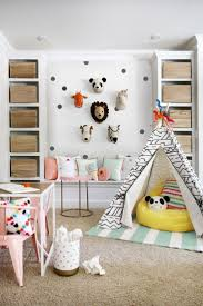 Bedroom Design Considerations Playroom Decor With Stuffed Animal Heads Attached To The Wall