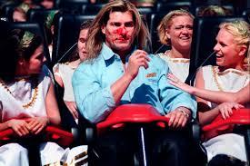 Six Flags Va Celebrity Roller Coaster Faces Kim Kardashian Katy Perry Justin