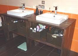 meuble cuisine pour salle de bain fabriquer meuble salle de bain plan de travail meilleur idées de