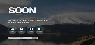20 best coming soon web page templates