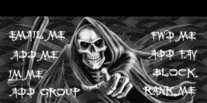grim reaper myspace contact table
