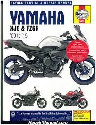 yamaha xj6 fz6r 2009 2015 haynes motorcycle repair manual