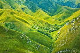 south african mountains beautiful landscape background green