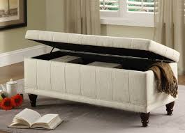 Storage Bench Fabric Sophisticated Bedroom Storage Bench Furniture Idea Home