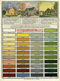 vintage exterior color schemes seroco paint 1918 exterior