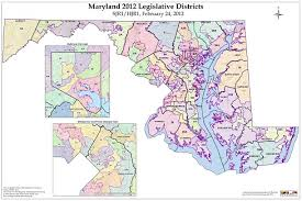 map of maryland maryland 2010 redistricting maryland legislative districts