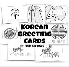 korean new year card happy korean new year greeting photocards sms quotes