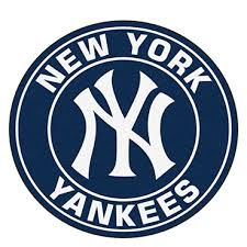 Baseball Area Rug New York Yankees Mlb Baseball Area Rug Bone Yard Bbq