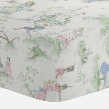 vintage crib sheets fitted sheet for cribs carousel designs
