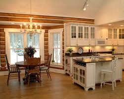 Cabin Kitchen Houzz - Cabin kitchen cabinets