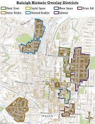 Clark College Map Raleigh Historic Districts Raleigh Historic Development Commission