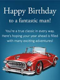 you re a true classic happy birthday card birthday greeting