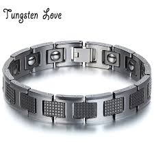 magnetic bracelet with germanium images Wholesale jewelry black germanium health magnetic therapy jpg