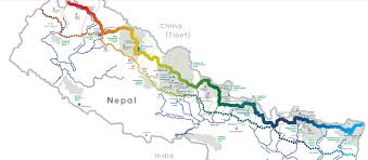 Himalayas On World Map by Great Himalayan Trail Himalayan Dream Team