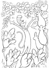 dr seuss hat template free dr seuss coloring page the cat in the hat thing one cutting some