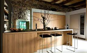 bar stunning contemporary kitchen design with dazzling bar