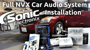 nissan altima coupe build your own car audio installation 2008 nissan altima full nvx system