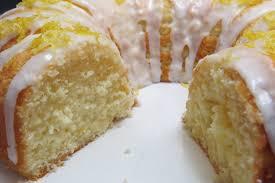 easy lemon yogurt pound cake w lemon glaze icing youtube