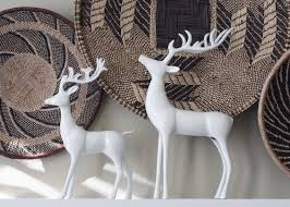 Christmas Decor With Deer by Pleasant Christmas Deer Decorations Modest Decoration 10 Funny