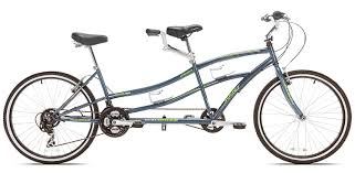 amazon black friday bikes amazon com kent dual drive tandem comfort bike 26 inch blue
