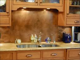 kitchen copper backsplash kitchen room magnificent copper brick backsplash real copper