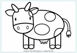 farm colouring pages kids