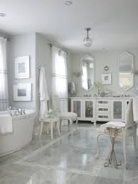 Pink Bathroom Fixtures by Modern Grey Tile Bathroom Designs With Gray Ceramic Floor And