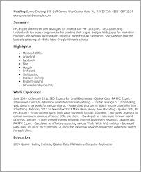 multitasking resume professional ppc expert templates to showcase your talent