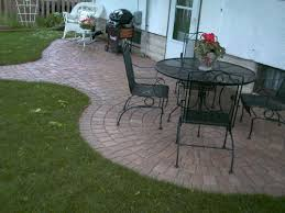 Patio Pavers Ta Paver Patio And Steps Using Pine Brick Clay Pavers