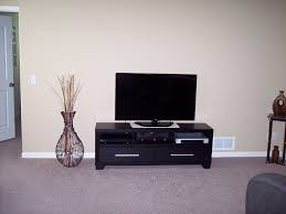 tv stand in black nebraska furniture mart