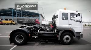 mitsubishi truck indonesia tractor head fz 4928 dan fz 4028 youtube