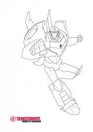 20 dessins de coloriage transformers robots in disguise à imprimer