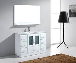 Zola Bathroom Furniture 48 Virtu Zola Ms 6748 Wh Bathroom Vanity Bathroom Vanities