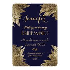 bridesmaids invitations custom wedding bridesmaids invitation cards