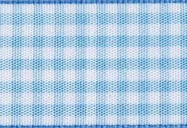 gingham ribbon pale blue and white gingham ribbon for slot gift boxes from foldabox