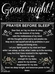 Comforting Message Before Surgery Good Night Prayer Daily Inspiration Pinterest Good Night
