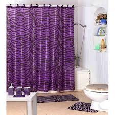 Bathroom Shower Curtain by Bird Shower Curtain Walmart Essential Living Ruffle Purple