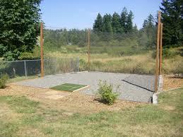 backyard golf range home outdoor decoration