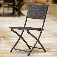 Single Bistro Chair China Folded Rattan Chair Bistro Chair Patio Single Wicker