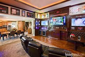 sports themed bedrooms tvs complete this sports themed room home theaters