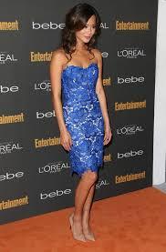 jamie chung blue lace dress google search jamie chung